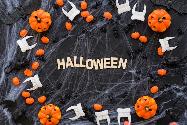 Composição spooky halloween