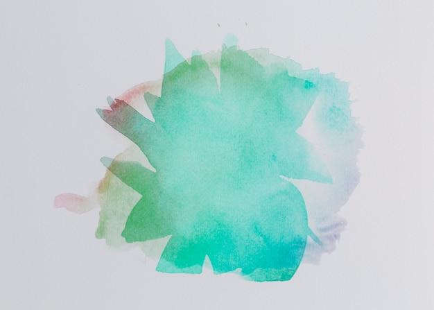 Compostion colorido com pinceladas de aquarela