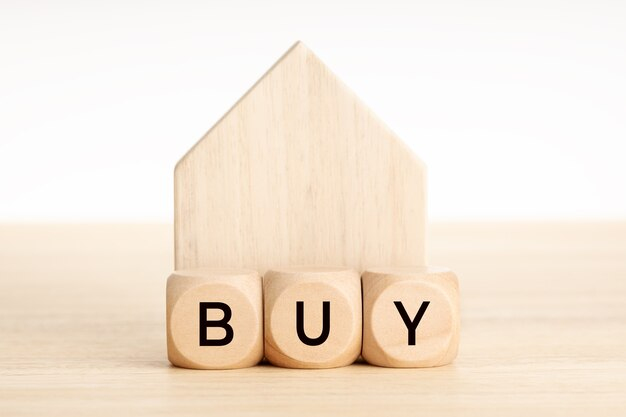 Compre um conceito de casa.