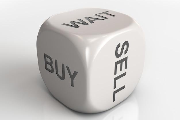 Compre, venda e espere dados
