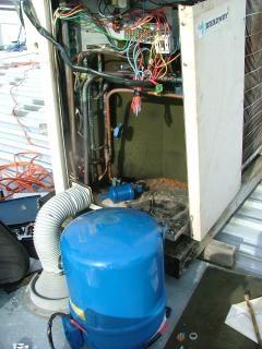 Compressor de ar condicionado mudança