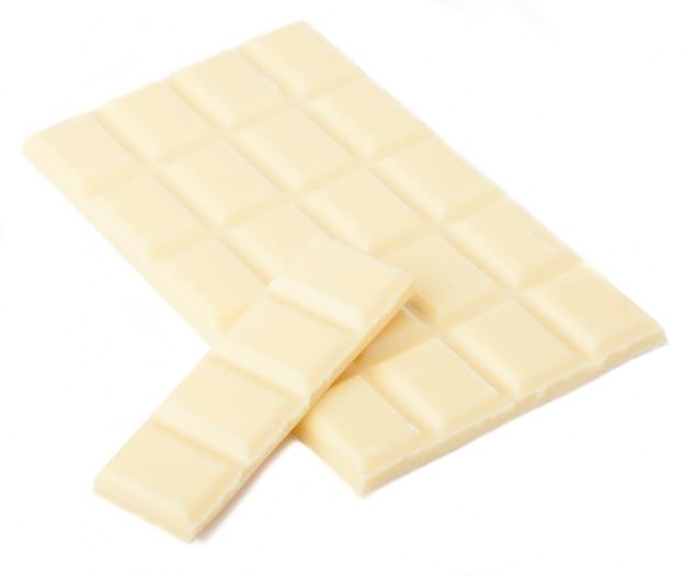 Comprimido branco de chocolate