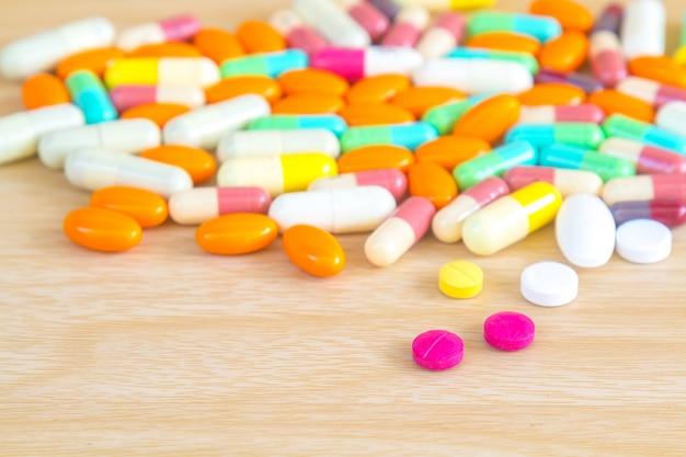 Comprimido e cápsula de medicamentos