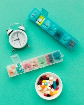 Comprimidos diários para tratamento