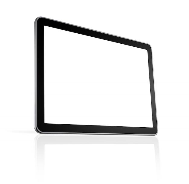 Computador 3d, tela de tv
