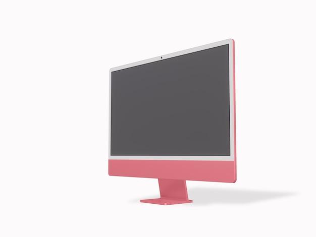 Computador com tela em branco