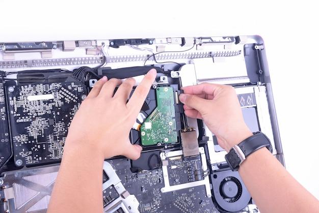 Computador de reparação