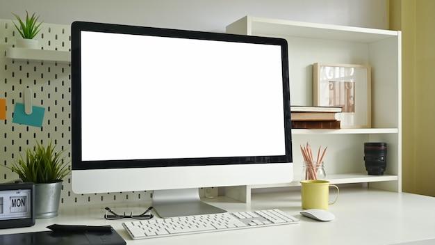 Computador do espaço de trabalho