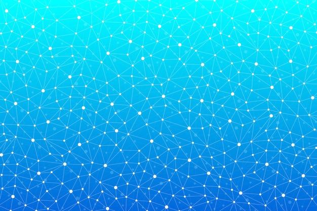 Comunicação gráfica de fundo abstrato. padrão científico com compostos. linhas e pontos mínimos da matriz. visualização de dados digitais. ilustração científica, imagem raster.