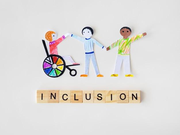 Comunidade multiétnica e de pessoas diferentes