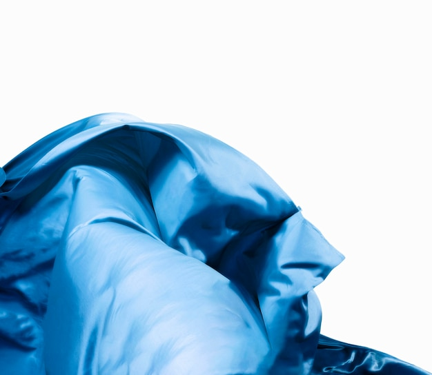 Conceito abstrato bonito de seda com espaço de cópia