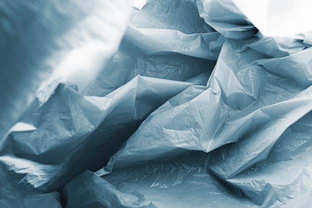 Conceito abstrato de saco de plástico