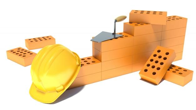 Conceito da indústria da construção civil