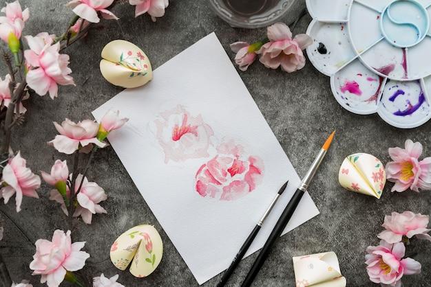 Conceito de ano novo chinês com papel