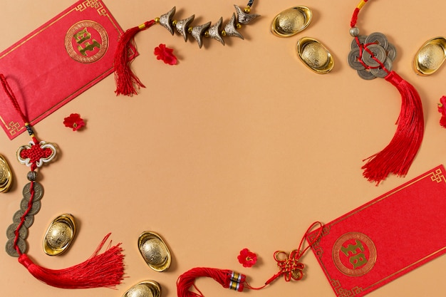 Conceito de ano novo chinês