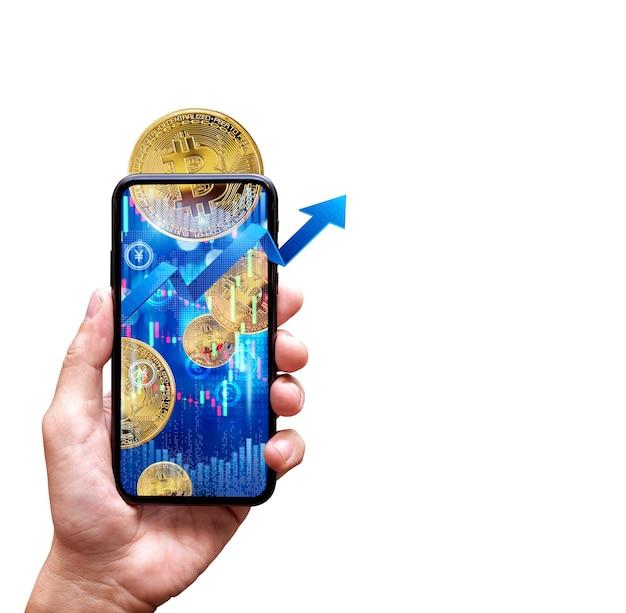 Conceito de aplicação bitcoins