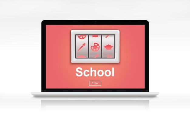 Conceito de aprendizagem de treinamento de educação de estudo