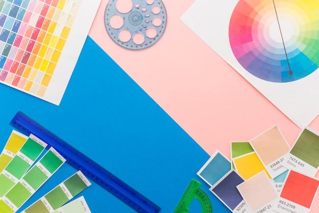 Conceito de arte com espaço
