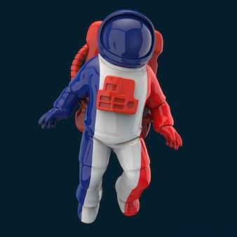 Conceito de astronauta - ilustração 3d