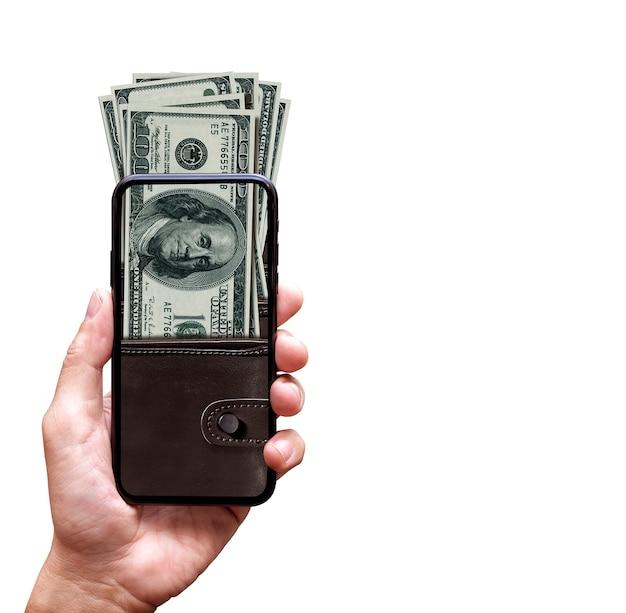 Conceito de carteira eletrônica