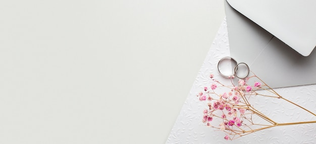 Conceito de casamento para salvar a data