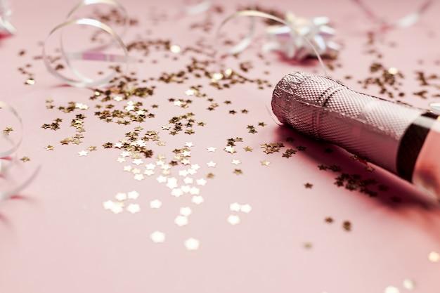 Conceito de celebração de festa de natal ou ano novo
