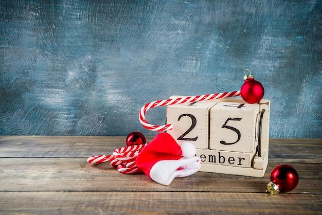 Conceito de celebração de natal