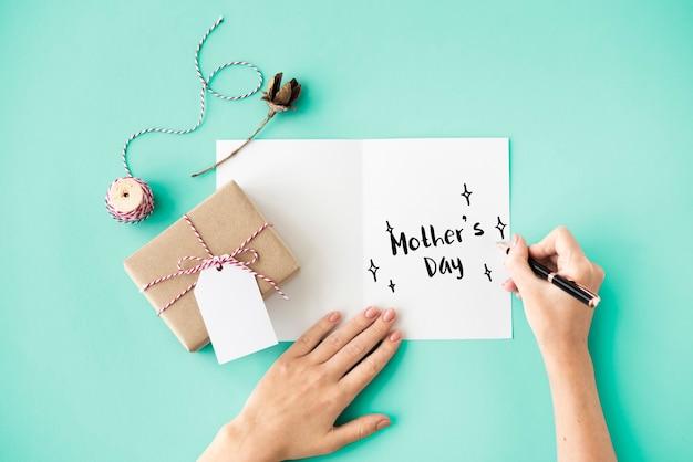 Conceito de celebração do feriado do dia das mães