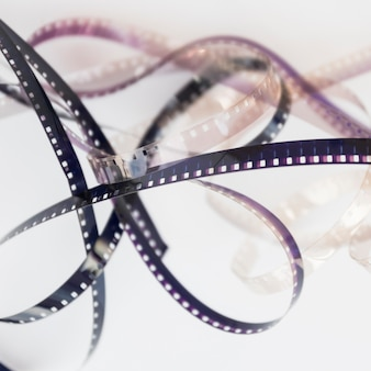 Conceito de cinema com carretel