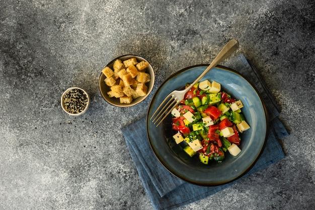 Conceito de comida saudável com legumes orgânicos
