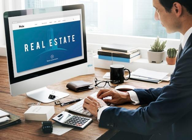 Conceito de compra de propriedade imobiliária