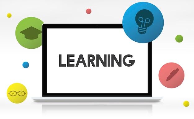 Conceito de conhecimento acadêmico de educação de aprendizagem Foto gratuita