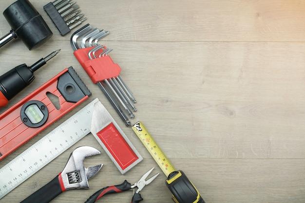Conceito de conjunto de ferramentas técnicas