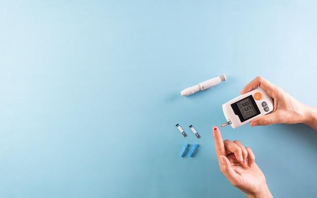 Conceito de conscientização do dia mundial da diabetes