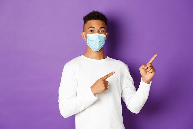 Conceito de coronavírus, quarentena e estilo de vida