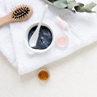 Conceito de cosméticos naturais