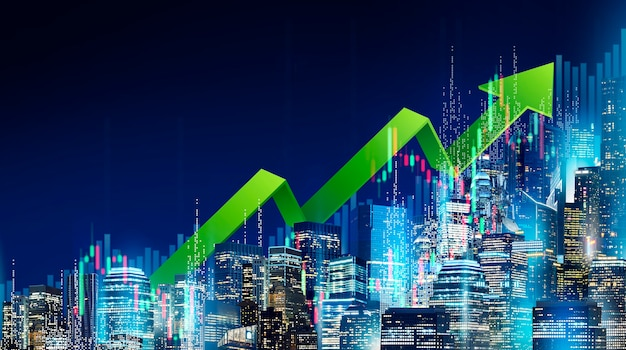 Conceito de crescimento de negócios
