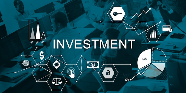 Conceito de custos de crédito de orçamento de negócios de investimento