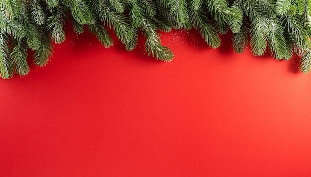 Conceito de decoração de fundo de natal