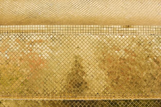 Conceito de decoração de ouro de estilo tailandês