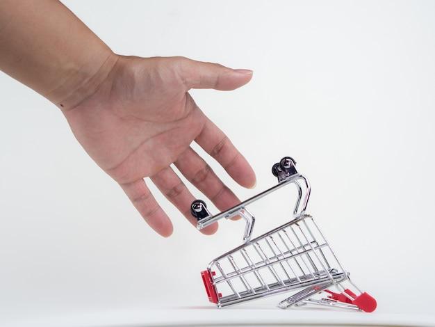Conceito de desconto de compras