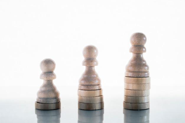 Conceito de desenvolvimento de negócios, crescimento de carreira, sucesso, conceito motivacional.