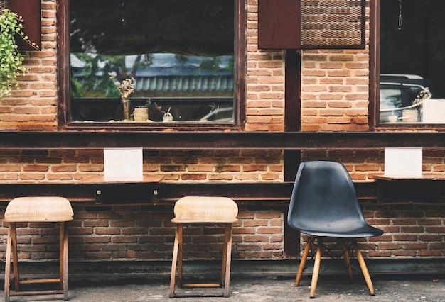 Conceito de design interior cafe cafe