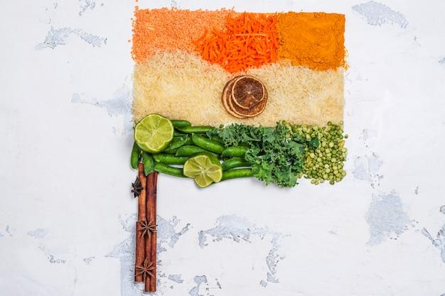 Conceito de dia da independência de india