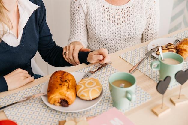 Conceito de dia das mães com café da manhã
