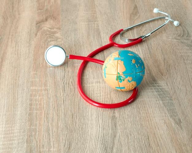 Conceito de dia de saúde do mundo