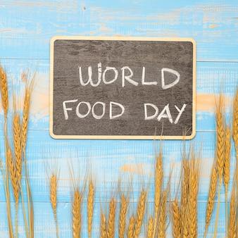 Conceito de dia mundial da comida