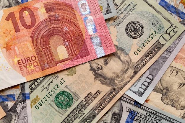 Conceito de dinheiro e finanças