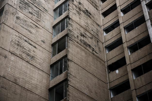 Conceito de downtown de edifício comercial