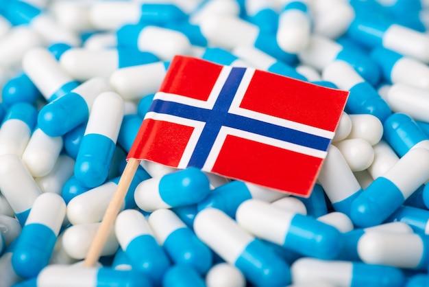 Conceito de epidemia na noruega